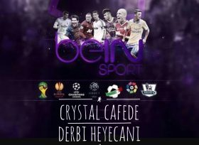 Derbi Crystal Cafe'de İzlenir